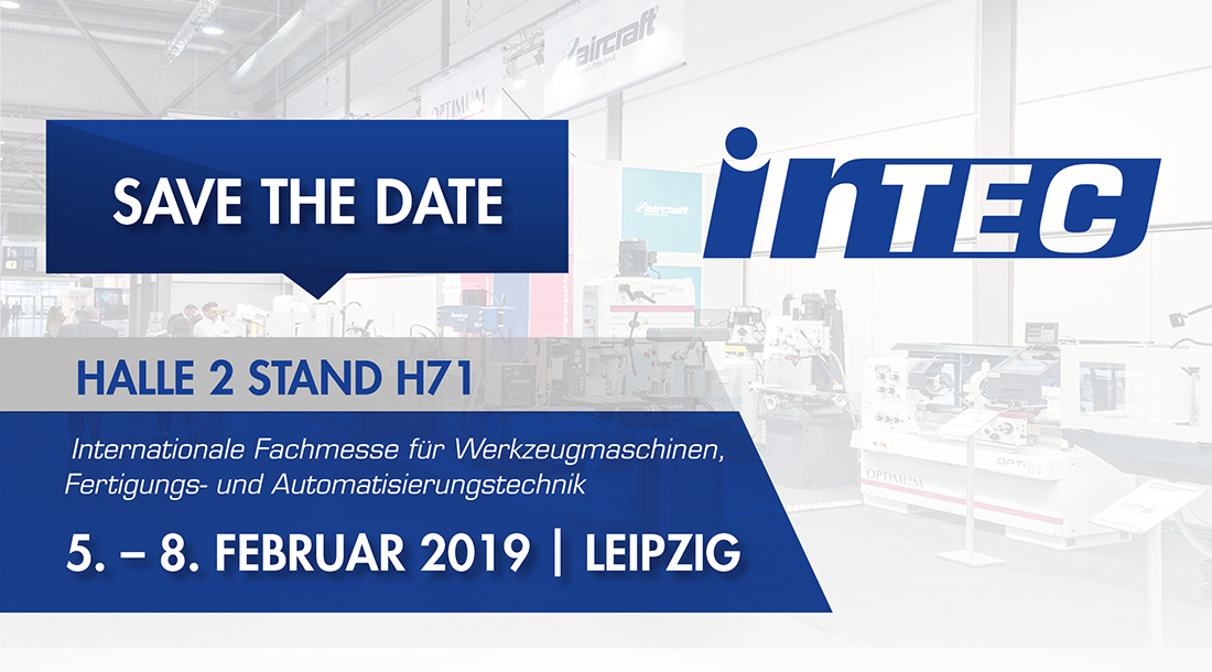 Save The Date Intec 2019